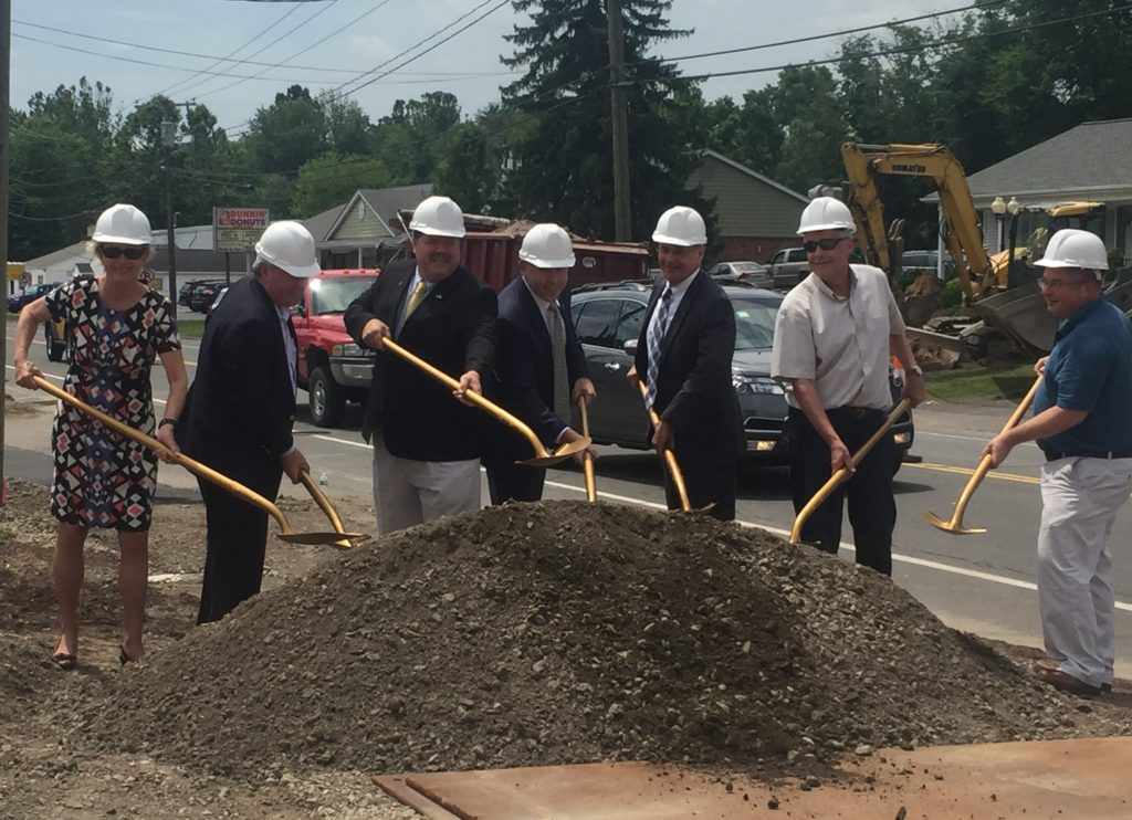 Streetscape Groundbreaking